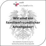 Gütezeichen Familienfreundlicher Arbeitgeber