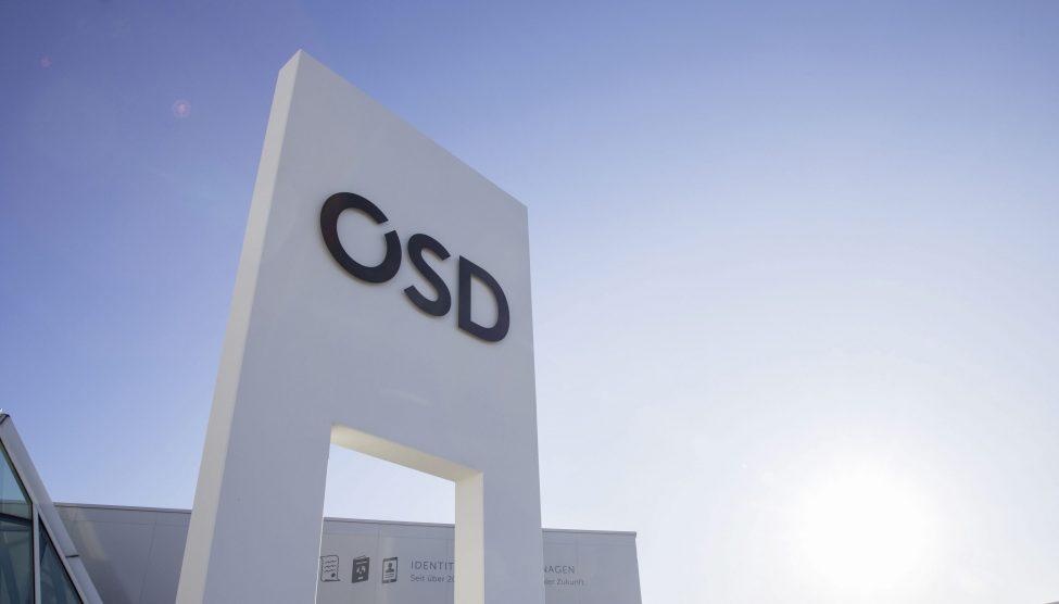 OSD Eingang bei Sonnenschein