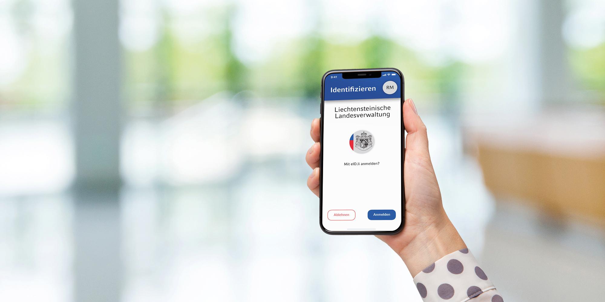 eID App on smartphone