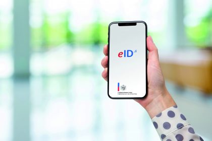 eID App auf Smartphone