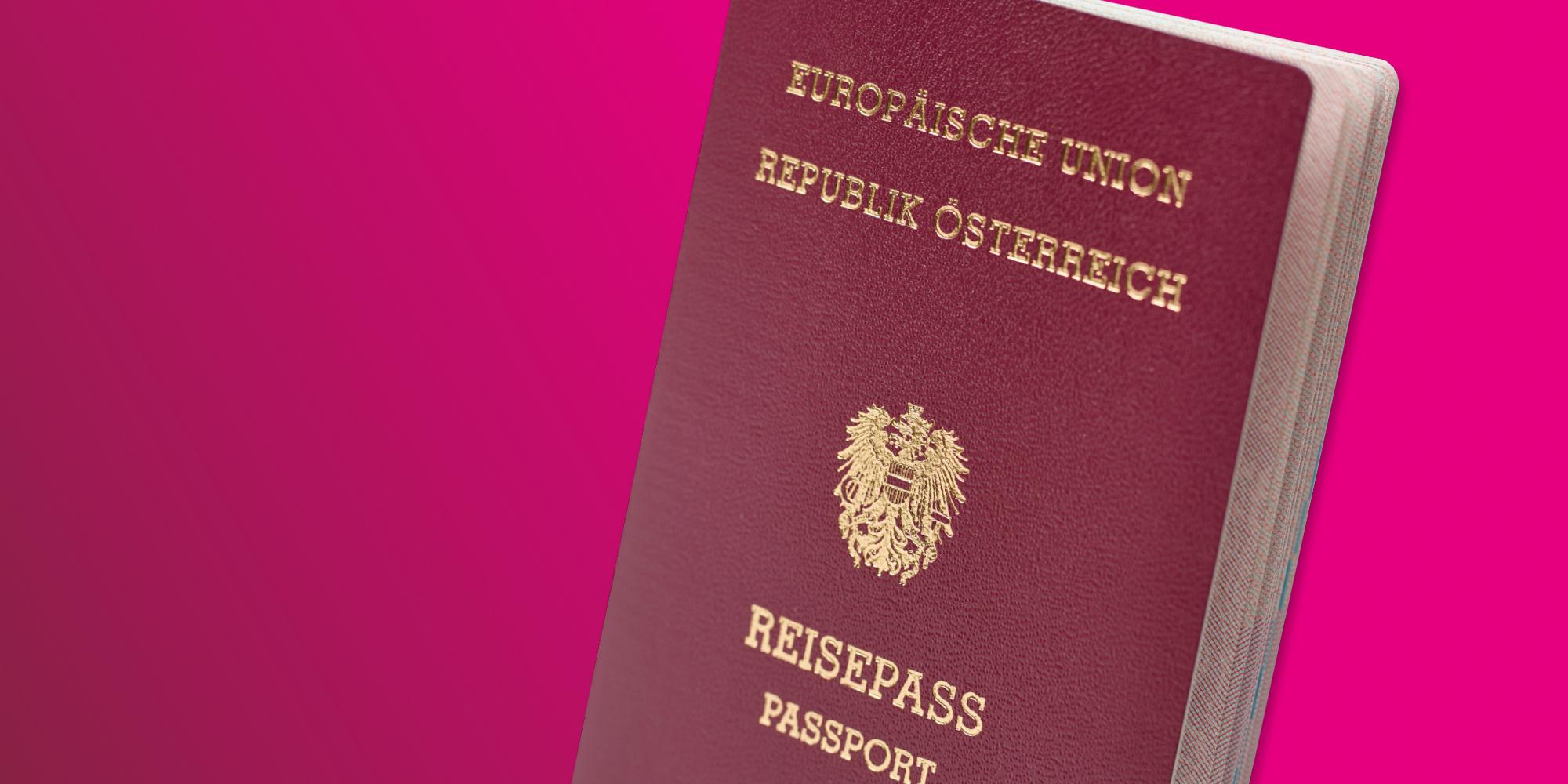 austrian passport header