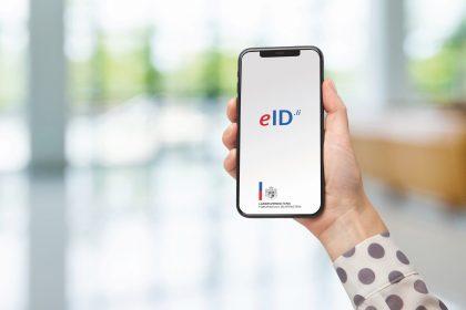 eID.li app on Screen